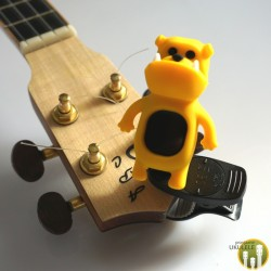Stroik/Tuner do Ukulele Bulldog Yellow