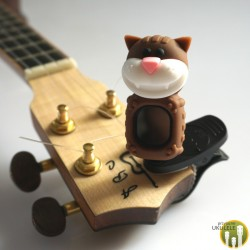 Stroik/Tuner do Ukulele Cat Brown