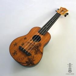 Mahilele Ukulele soprano LATO 3.0 mahoń
