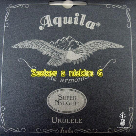 Struny Aquila Super NylGut Ukulele niskie G