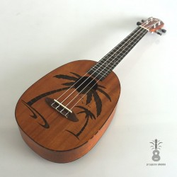 Ortega Ukulele koncert Ananas mahoń