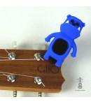 Stroik/Tuner do Ukulele Bulldog Blue
