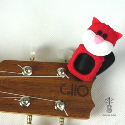Stroik/Tuner do Ukulele Cat Red
