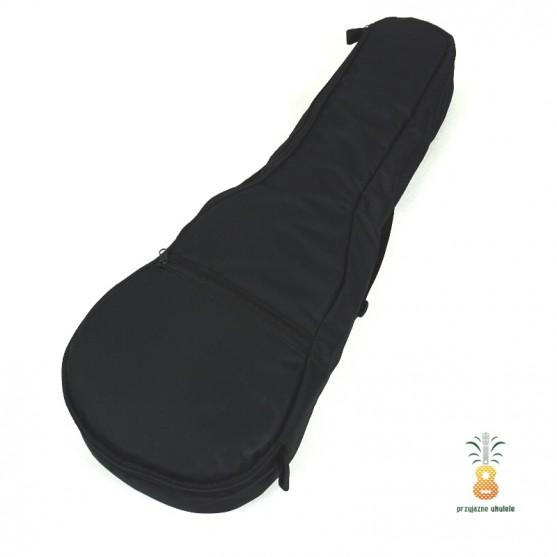 Zebra Music solidny czarny pokrowiec dla ukulele 07