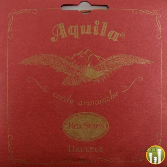 Struny Aquila Red Series komplet niskie G Ukulele