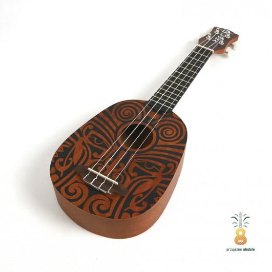 Luna Ukulele soprano Tribal Ananas