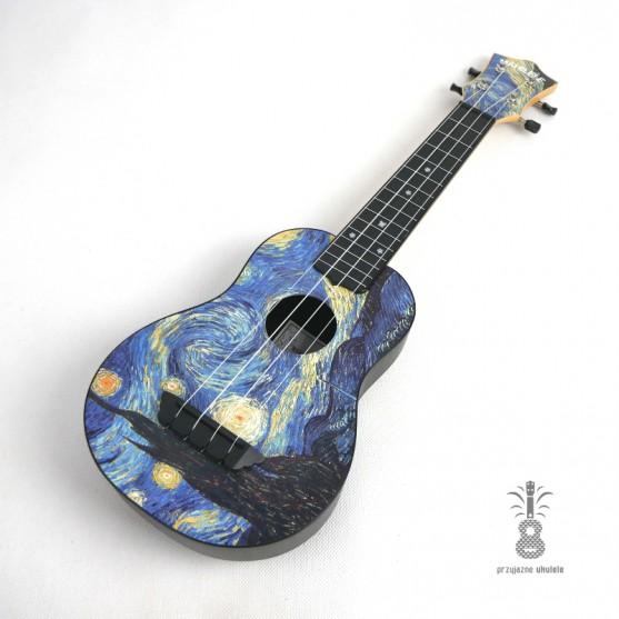 Mahilele Ukulele soprano Van Gogh 3.0