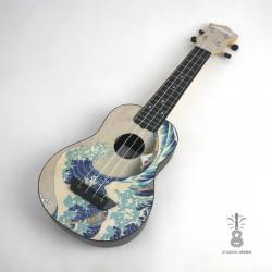 Mahilele Ukulele soprano Hokusai 3.0