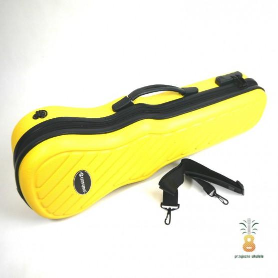 Twardy futerał dla Ukulele Crossrock Yellow CRA400
