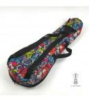 Zebra Music solidny pokrowiec COLOURS dla ukulele 11