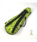 Zebra Music solidny czarny pokrowiec dla ukulele Greensleeves 08