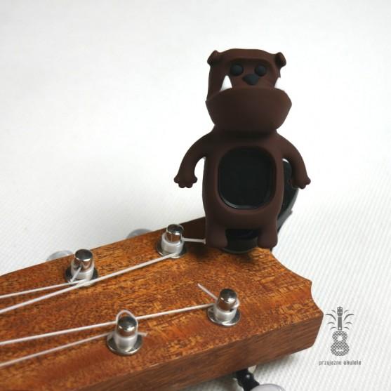 Stroik/Tuner do Ukulele Bulldog Brown