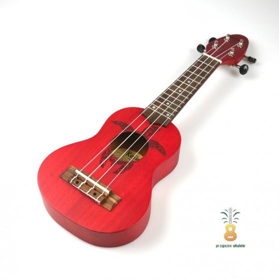 Sopranino Keiki Ortega Ukulele RED