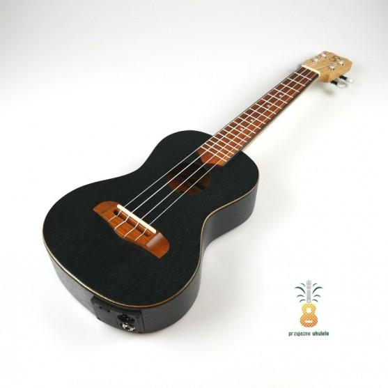Gniewomir Ukulele EQ koncert Black Oak Elektro-Akustyk