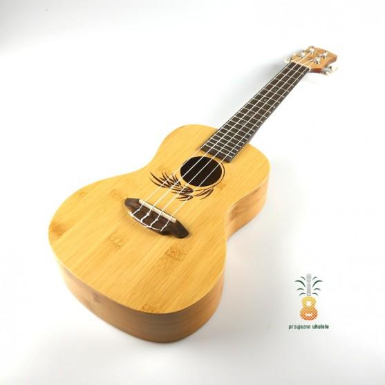 Luna Ukulele koncertowe Bamboo