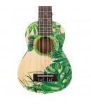 Cascha® ukulele sopranowe Art Series Leafy