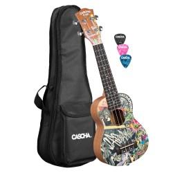 Cascha® ukulele sopranowe Art Urban