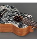 Cascha® ukulele sopranowe Art Series Sketch