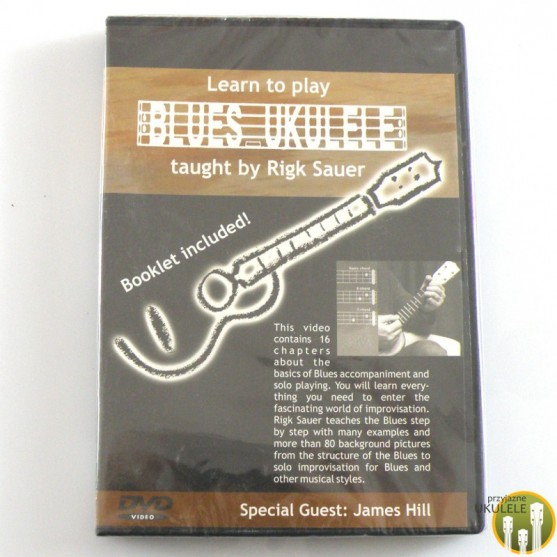 Learn to play Blues Ukulele (Jak grać blues'a na ukulele) - DVD